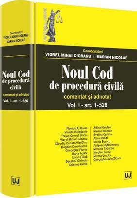 NOUL COD DE PROCEDURA CIVILA. VOLUMUL  2