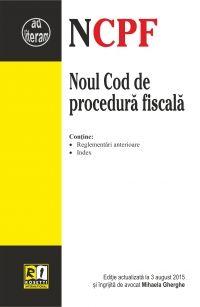 NOUL COD DE PROCEDURA FISCALA (2015-08-03)