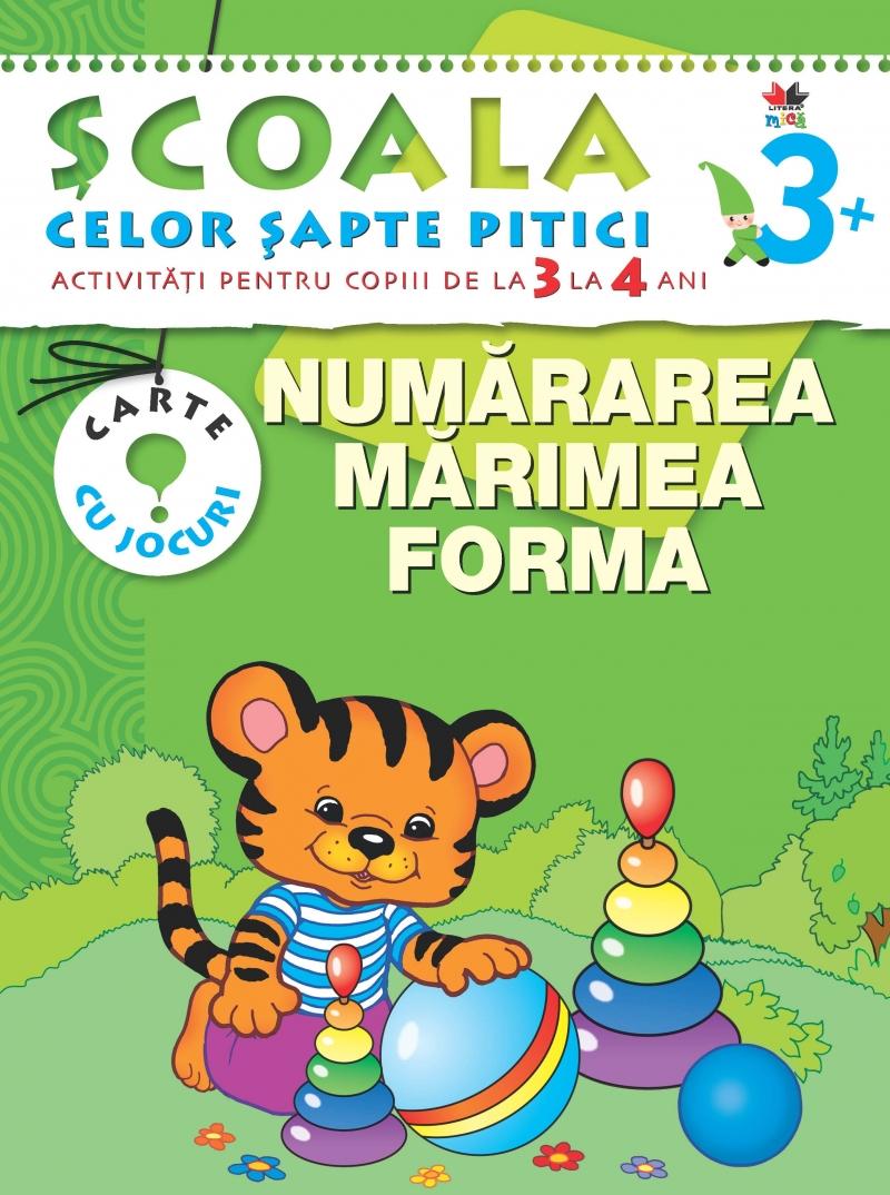 NUMARAREA. MARIME. FORMA. 3-4 ANI EDITIA 2