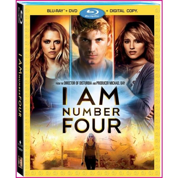NUMARUL PATRU (BR) - I AM NUMBER 4 (BR)