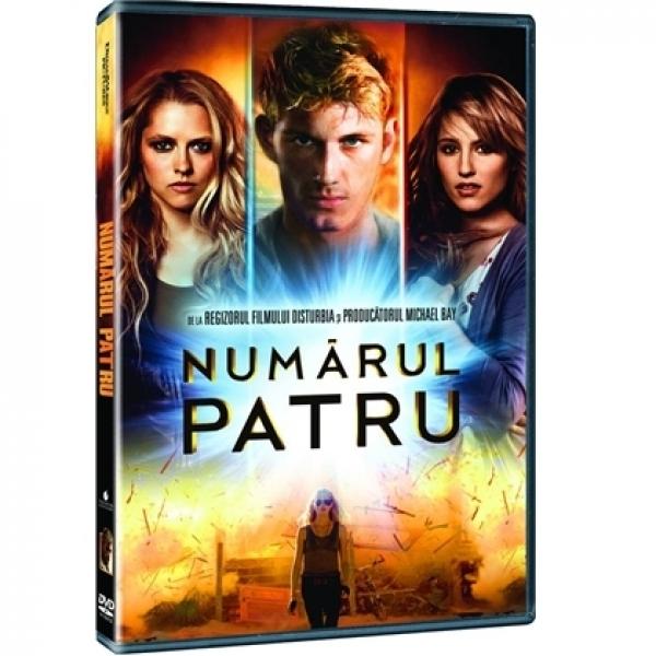 NUMARUL PATRU - I AM NUMBER 4