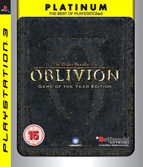 OBLIVION GOTY PLATINUM PS3
