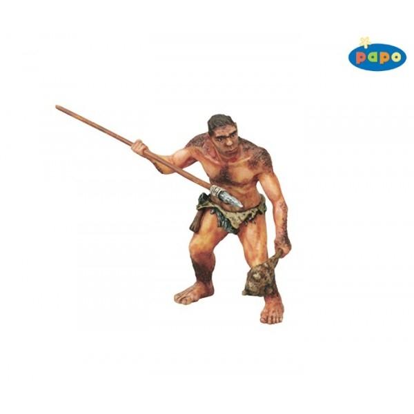 Om preistoric cu sulita