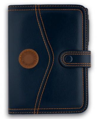 Organizator 13x18cm,Q24113,6 inele,calculator,albastru