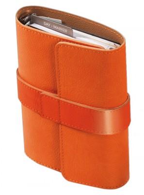 Organizator A5,Pochette,6 inele,portocaliu