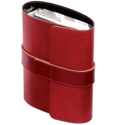 Organizator A5,Pochette,6 inele,rosu