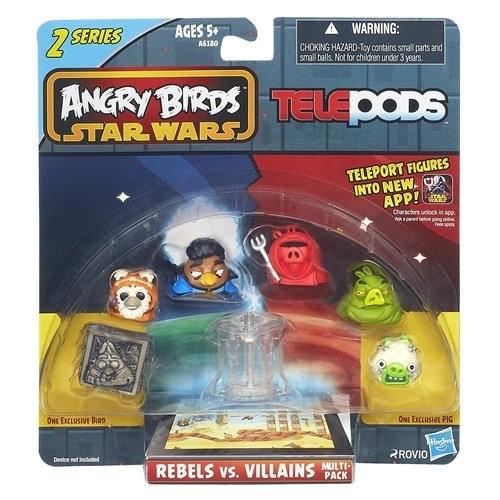 Pachet figurine Angry Birds Star Wars
