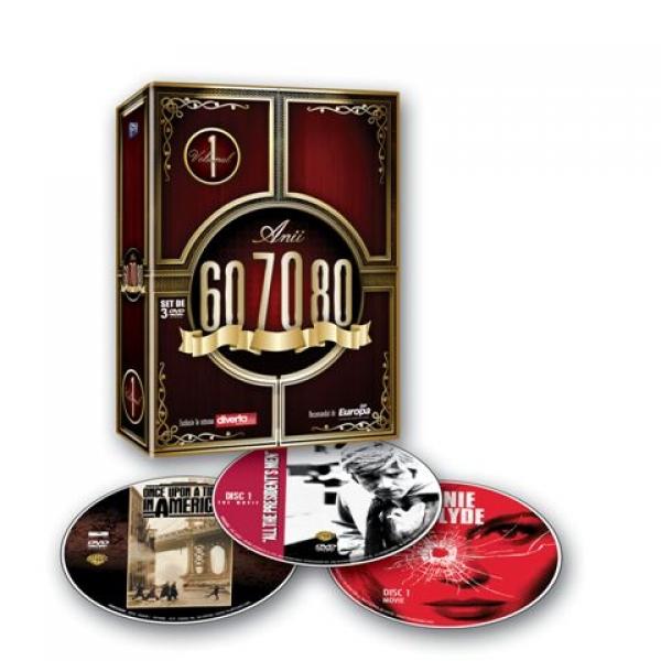 PACHET FILME CLASICE 60-70-80 Volumul 4