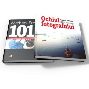 MICHAEL FREEMAN PACHET FOTOGRAFIE 2 CARTI