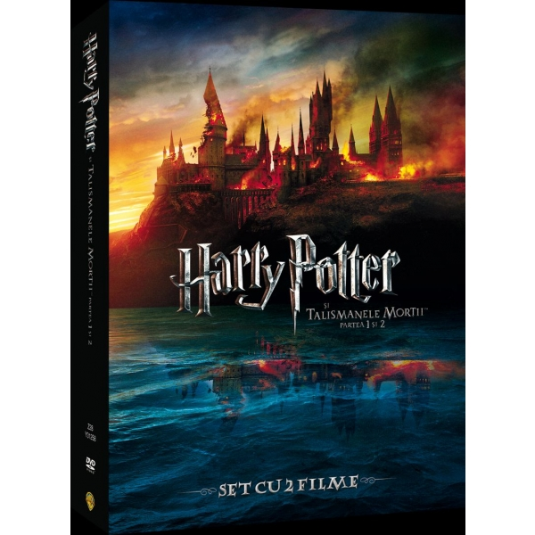 PACHET HARRY POTTER AND THE DEATHLY HALLOWS PART 1&2-PACHET HARRY POTTER SI TALISMANELE MORTII 1&2