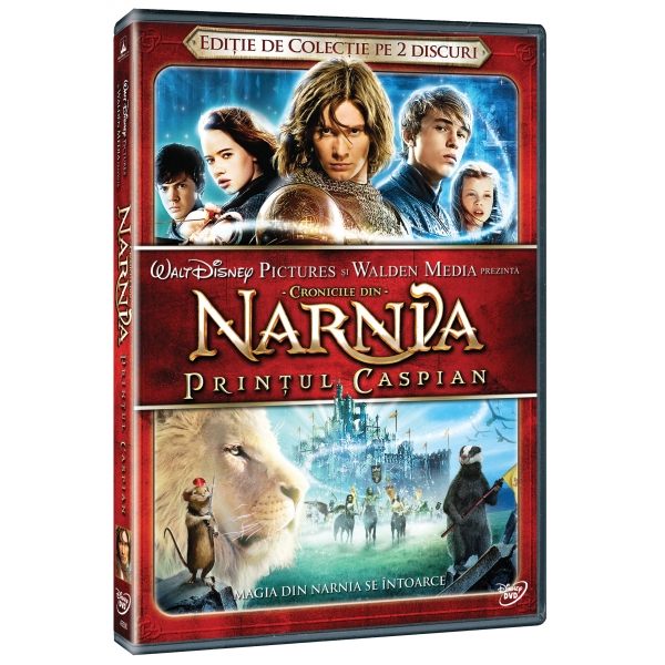 PACHET NARNIA 2 DVD - PACHET NARNIA 2 DVD