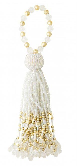 Pandantiv decorativ Lisbeth Dahl, alb 00126