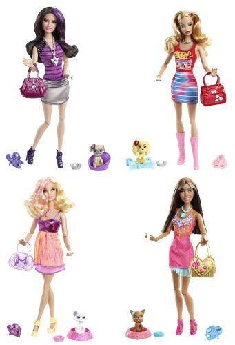 Papusa Barbie animal de companie,div. mod