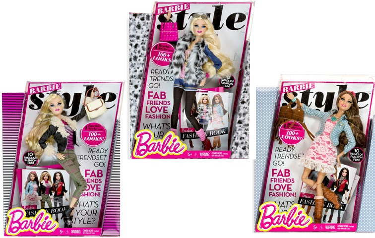 Papusa Barbie fashionistas, Style