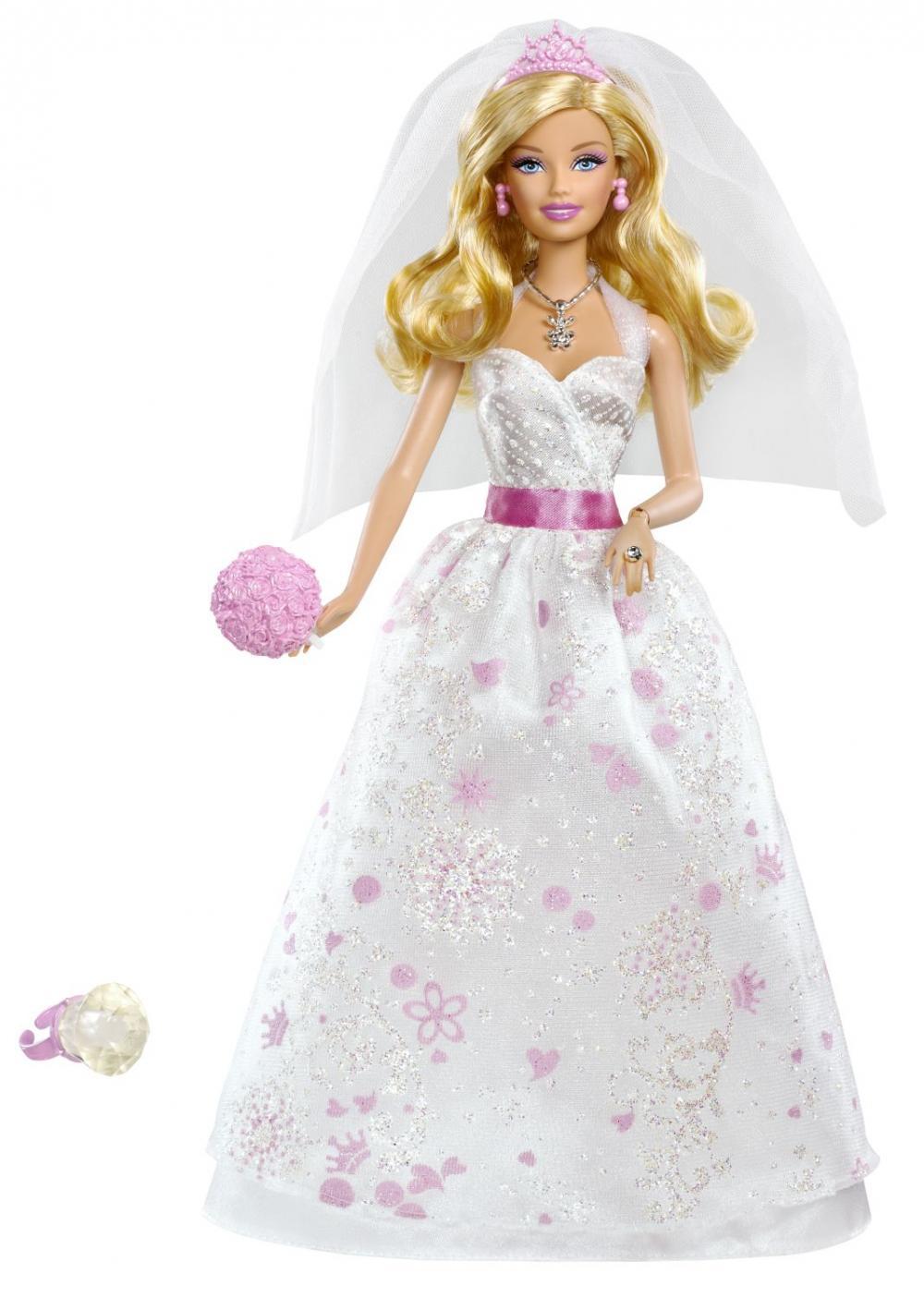 zzPapusa Barbie mireasa