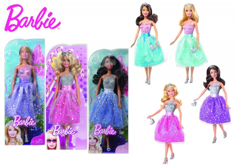 Papusa Barbie, petrecerea printeselor
