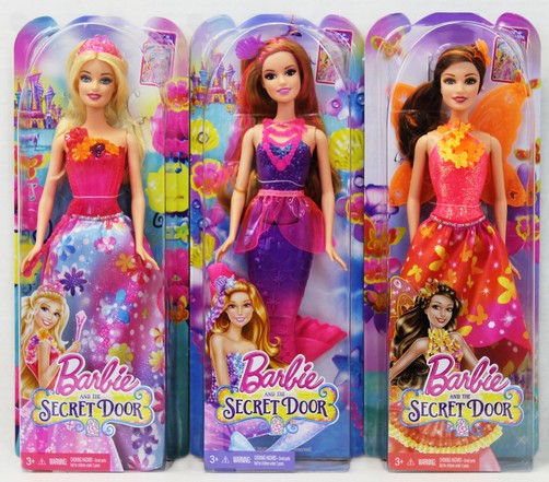 Papusa Barbie si usa secreta, div.modele