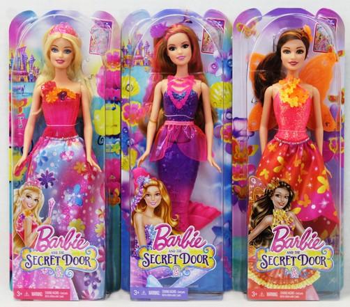 Papusa Barbie si usa secreta, div.modele