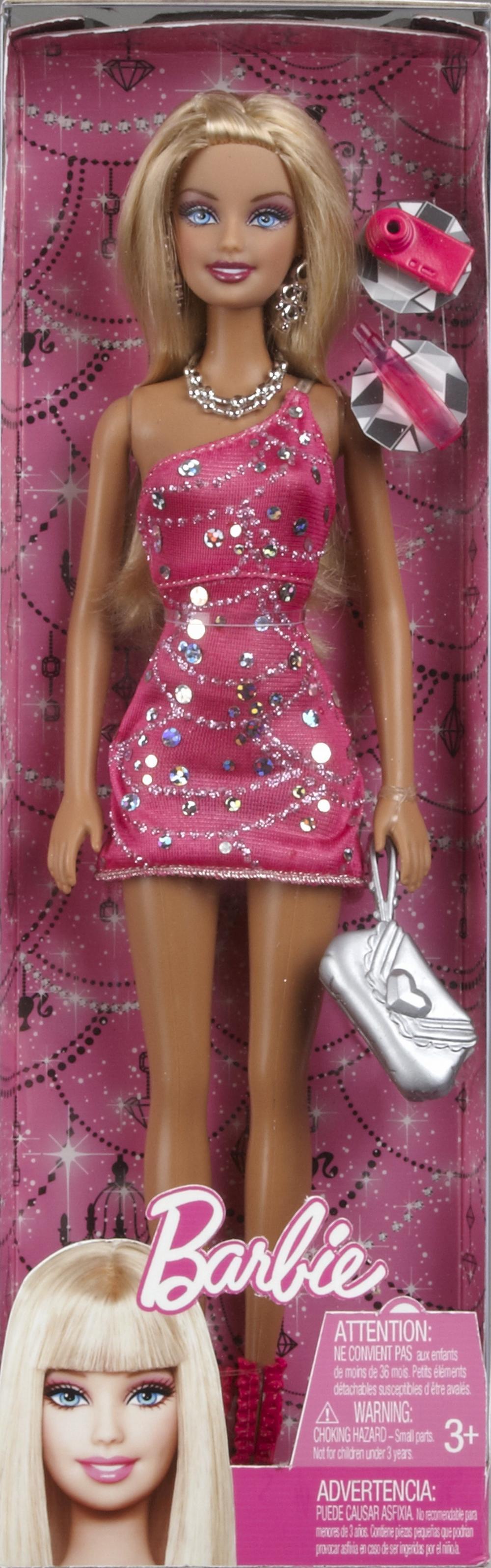 Papusa Barbie stralucitoare, div. modele