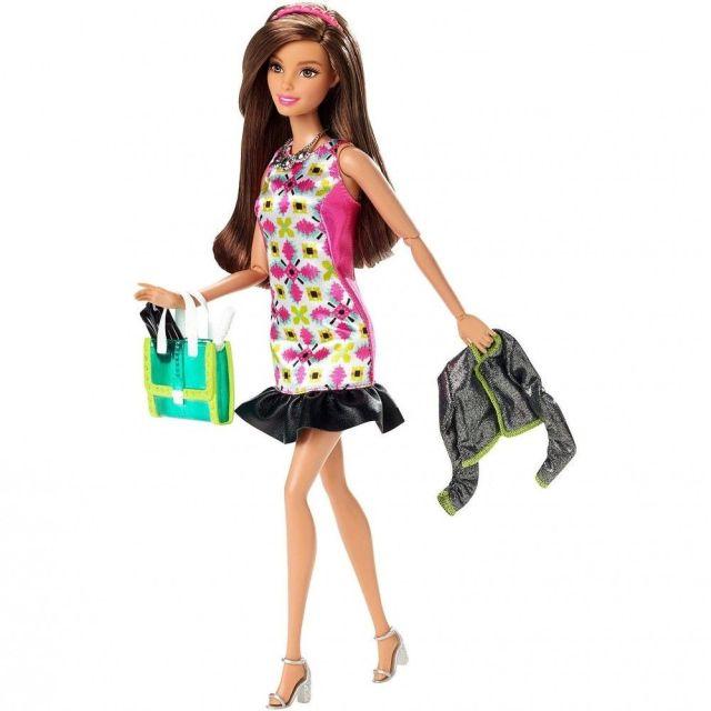 Papusa Barbie,Fashionistas,in oras