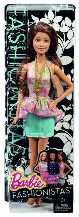Papusa Barbie,Fashionistas,tinuta casual