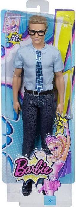 Papusa Barbie,Ken,cu ochelari