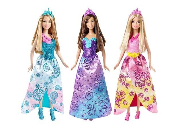 Papusa Barbie,printese,div.modele,CFF24
