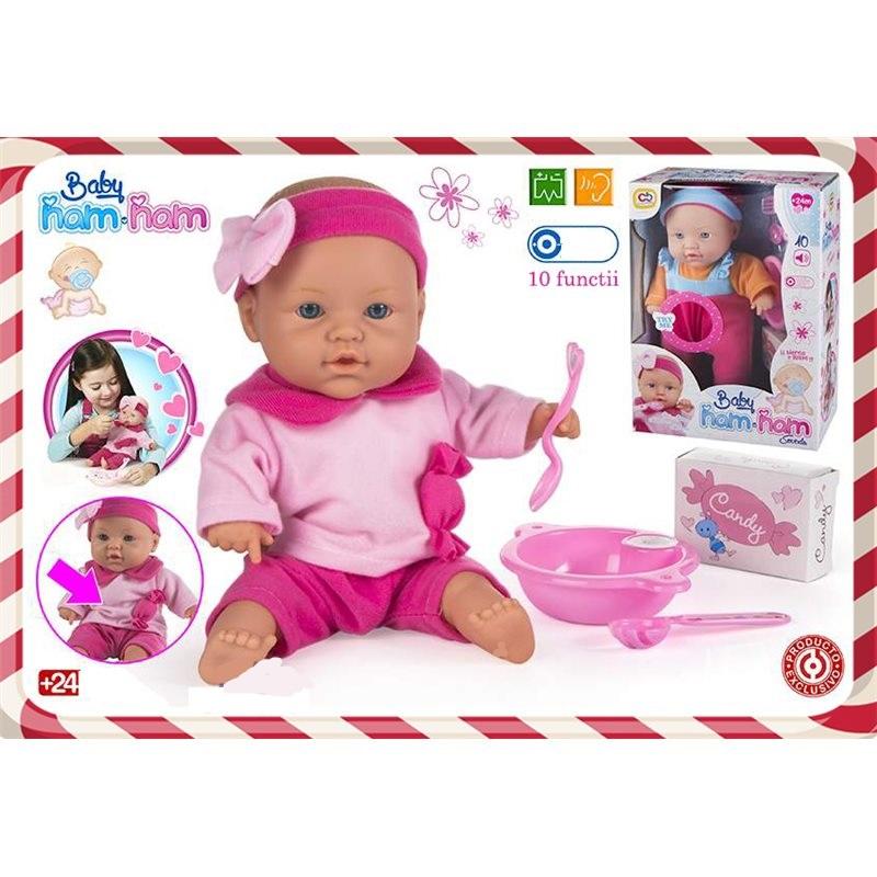 Papusa ColorBaby,bebe cu sunet si accesorii