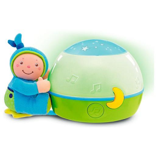 Papusa cu lampa muzicala bleu Chicco