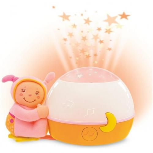 Papusa cu lampa muzicala roz Chicco