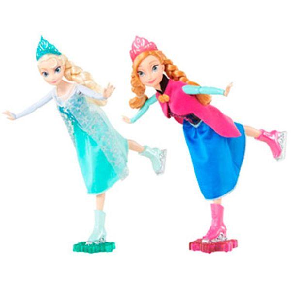 Papusa Disney Frozen cu patine