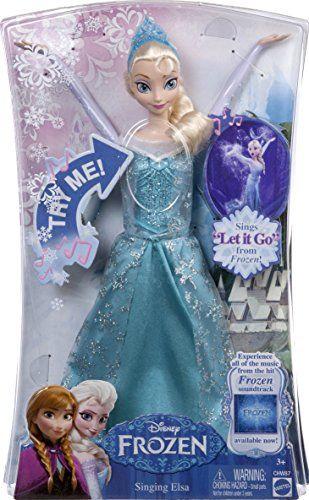 Papusa Disney Frozen,Elsa,canta