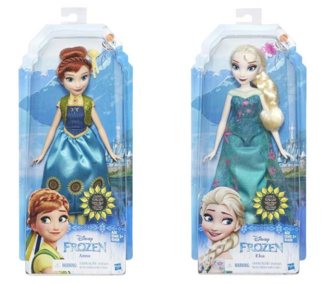Papusa Disney,Frozen,Anna/Elsa.Frozen Fever