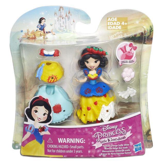 Papusa Disney,Princess mini,cu accesorii,div.mod.