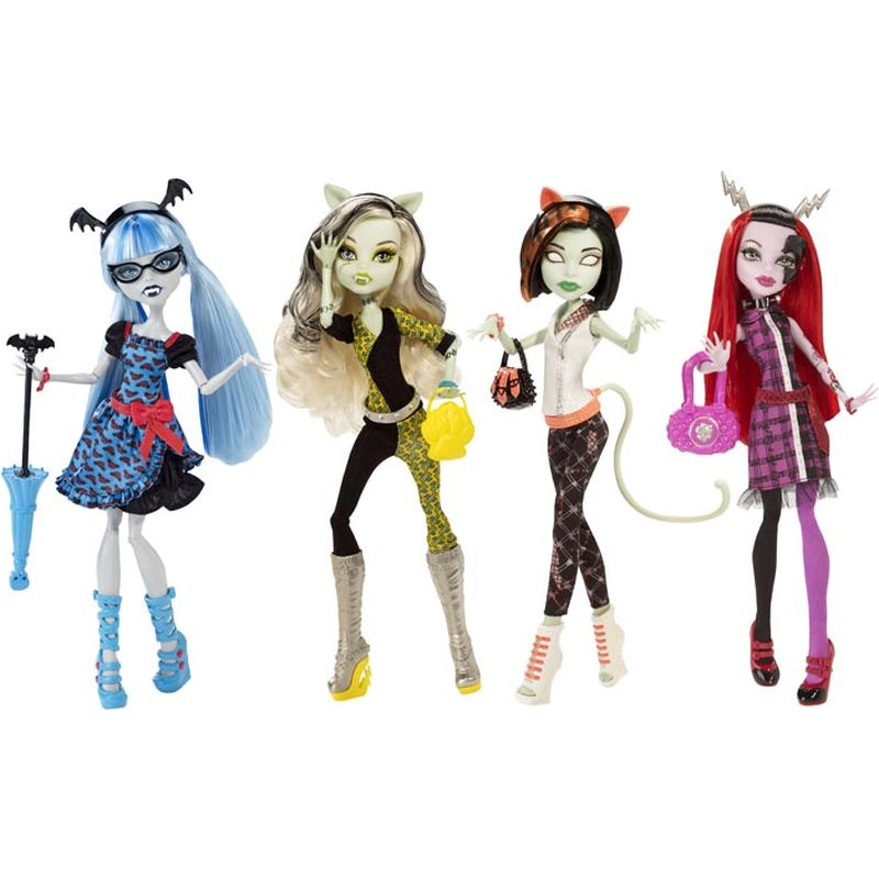 Papusa Monster High, CBP34, div. modele