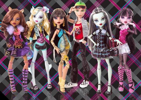 Papusa Monster High, div. modele