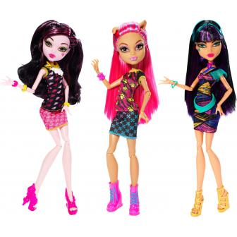 Papusa Monster High la cantina, div. modele