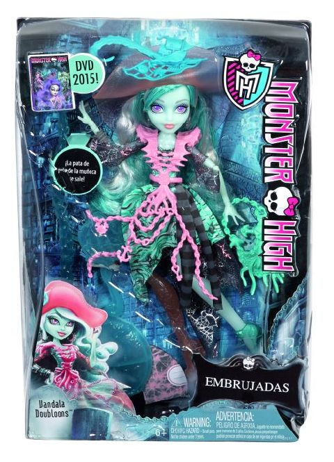 Papusa Monster High,haunted,div.mod,CDC34
