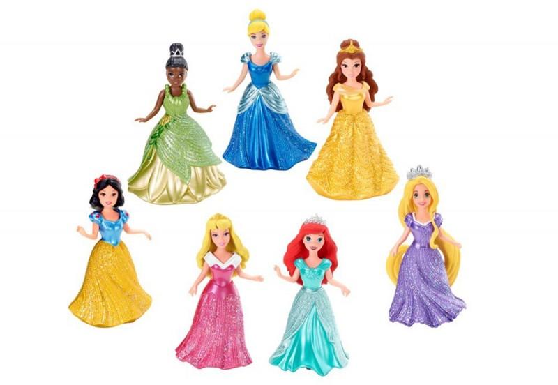 Papusa Printesa Disney Magiclip