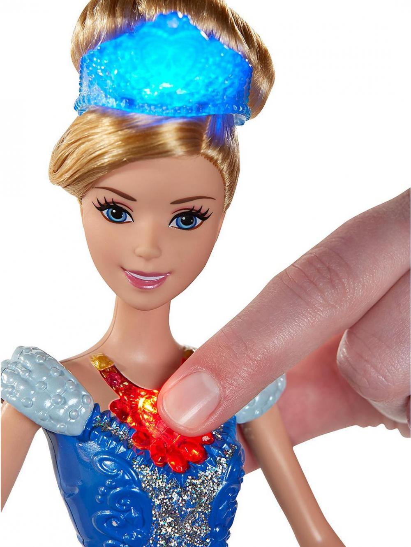 Papusa Printesa Disney piatra stralucitoare