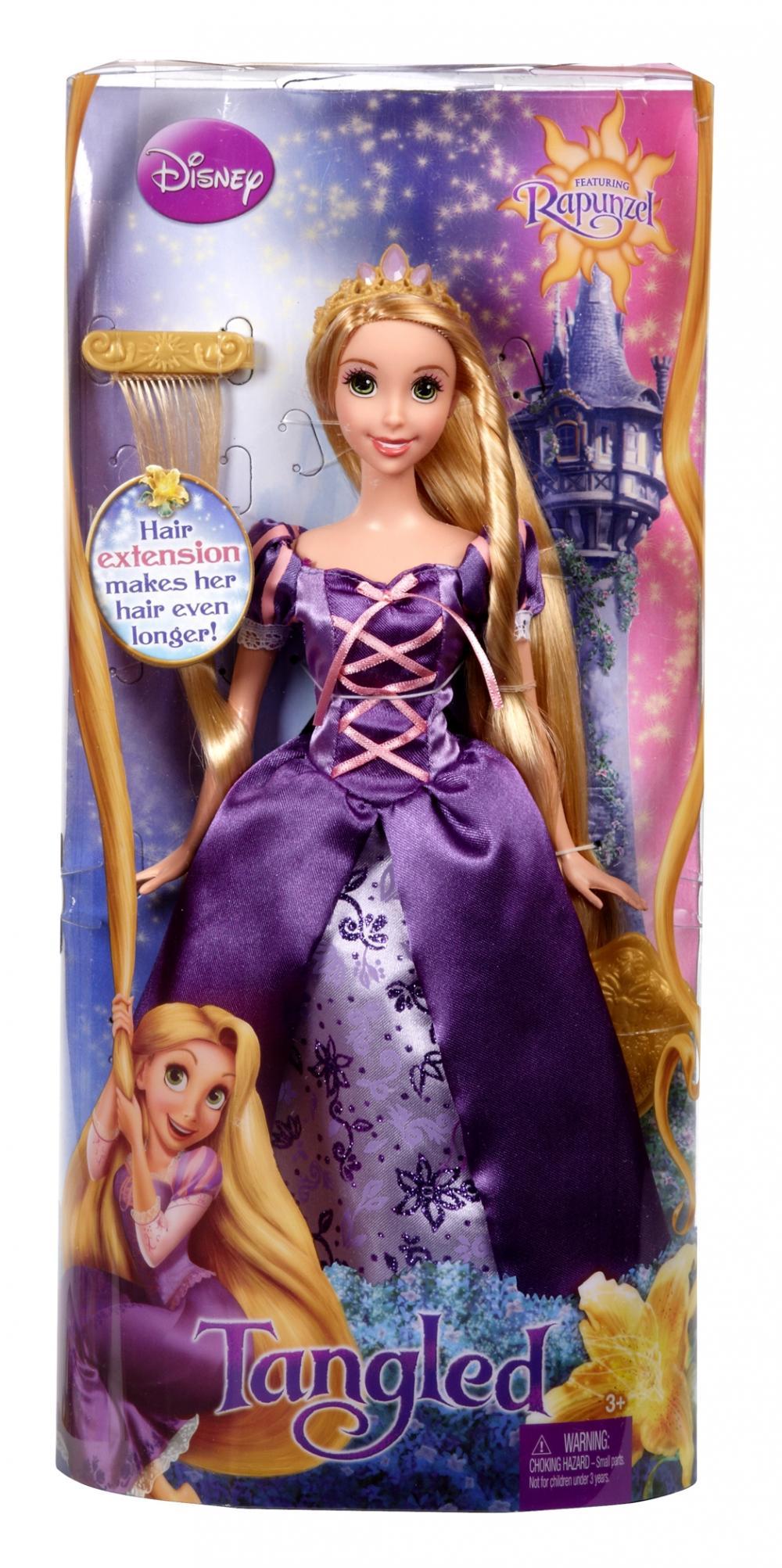 zzPapusa Rapunzel cu extensie de par