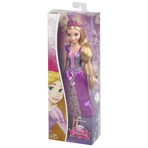 Papusa Rapunzel printesa sclipitoare