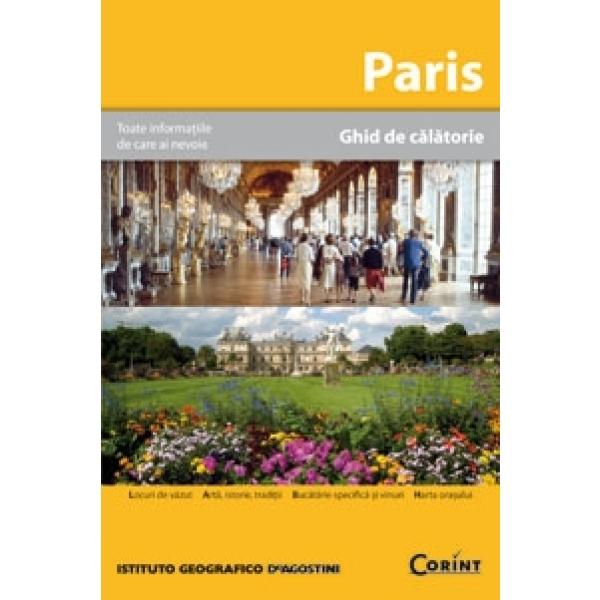 PARIS. GHID DE CALATORIE