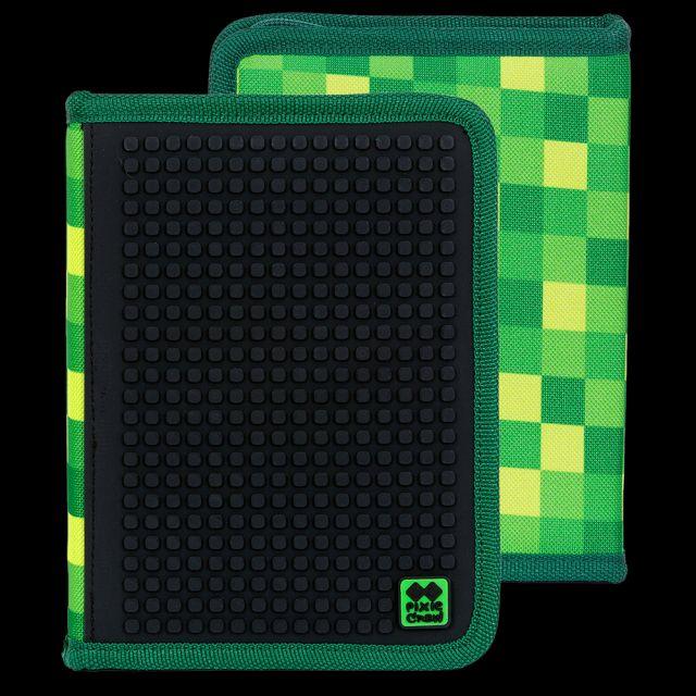 Penar 1fermoar Pixie,negru/verde,100pcs pt pers.