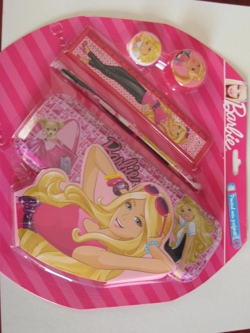 Penar metalic echipat, Barbie