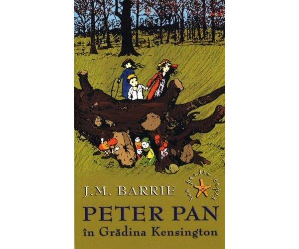 PETER PAN IN GRADINA KESINGTON