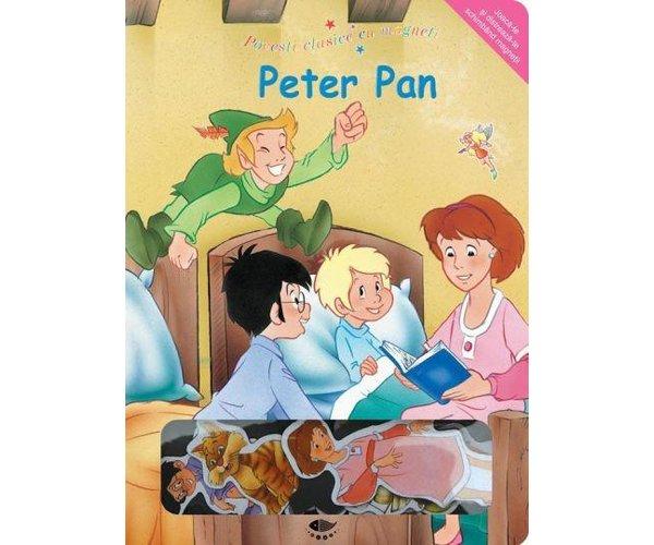 PETER PAN  POVESTI CLASICE CU MAGNETI