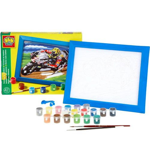 Pictura pe numere Motociclete