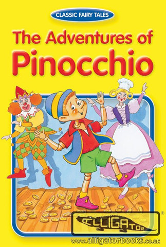 PINOCHIO- CARTE DE COLORAT CU STICKERE
