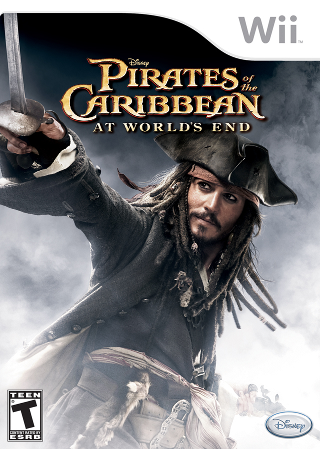 PIRATES OF THE CARIBB 3 WII